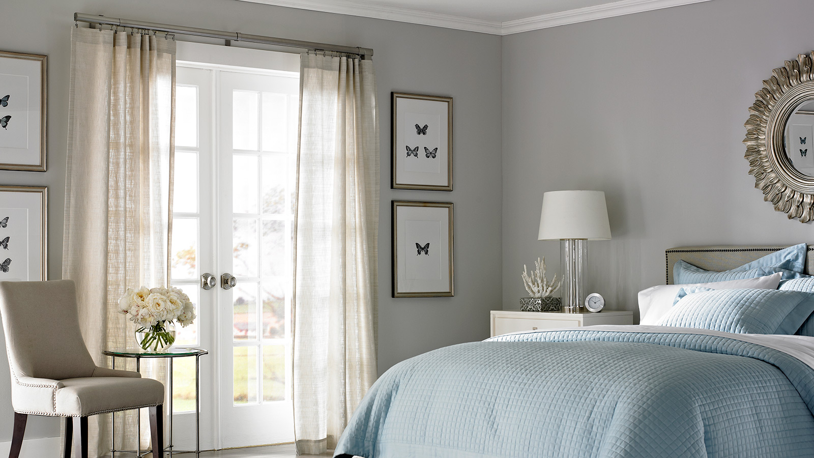 in match drapes custom accent las matching draperies drapery vegas to room blue motorized